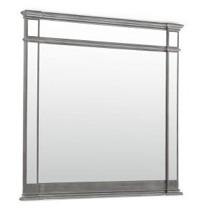 Vida Living Ophelia Silver & Mirrored Frame Wall Mirror