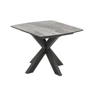 Vida Living Valerius Ceramic & Metal Lamp Table
