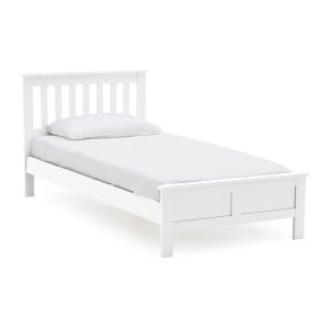 Vida Living Willow Painted 3ft Single Bed White