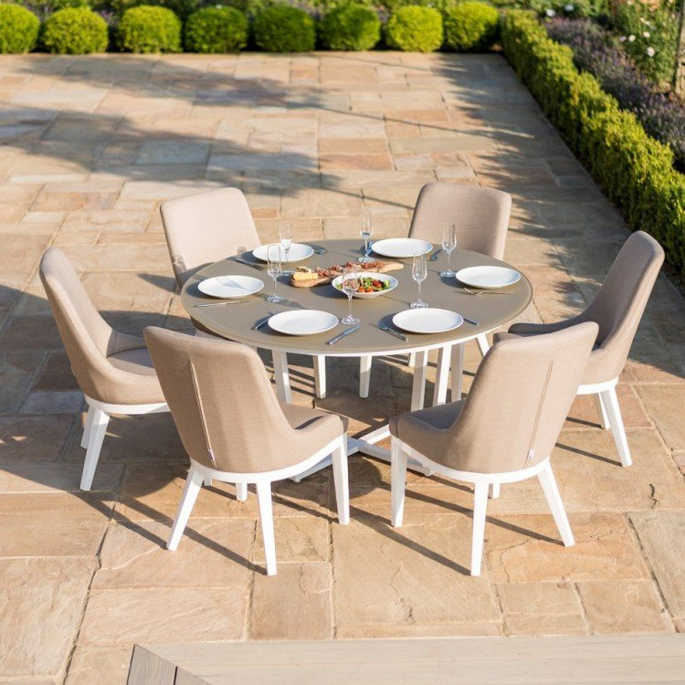 6 Seater Fabric Dining Sets