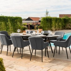 8 Seater Fabric Dining Sets