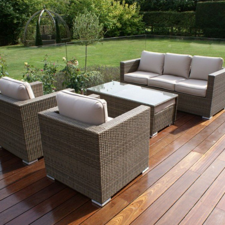 Rattan 3 Seater Sofa Sets