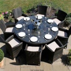 Rattan 8 Seater Dining Sets