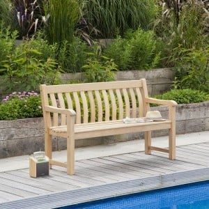 Alexander Rose Garden Furniture Roble St George Bench 5ft