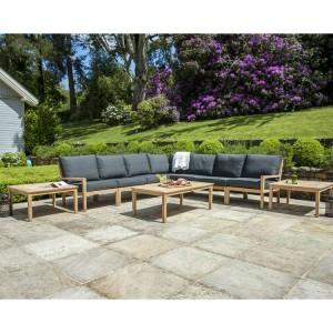 Alexander Rose Garden Furniture Roble Deluxe Corner Lounge Set
