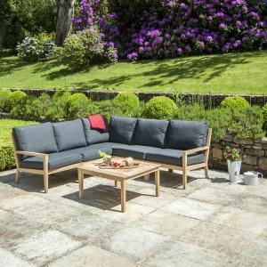 Alexander Rose Garden Furniture Roble Corner Lounge Set