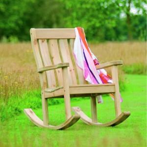Alexander Rose Garden Furniture Solid Pine Farmers Rocking Chair