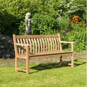 Alexander Rose Garden Furniture Mahogany Broadfield 5ft Bench