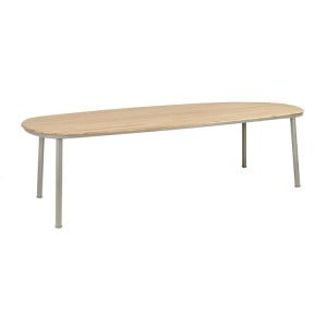 Alexander Rose Cordial Garden Beige 2.7m Dining Table With Roble Top