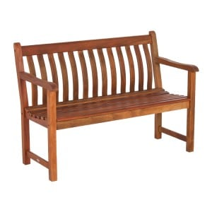 Alexander Rose Garden Furniture Cornis Broadfield Bench 4ft
