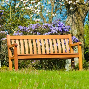 Alexander Rose Garden Furniture Cornis St George Bench 4ft