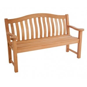 Alexander Rose Mahogany Garden Turnberry Bench 5ft