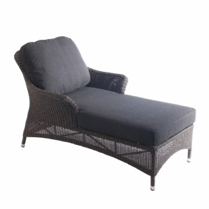 Alexander Rose Monte Carlo Rattan Relax Lounger with Cushion