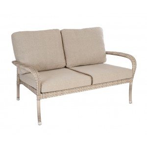 Alexander Rose Ocean Pearl Garden 2 Seater Lounge Sofa