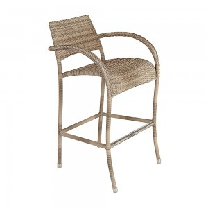 Alexander Rose Ocean Pearl Garden Fiji High Bar Stool