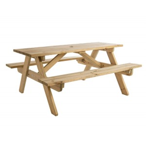 Alexander Rose Pine Garden Childrens Picnic Table