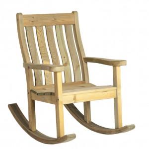 Alexander Rose Pine Garden Farmers Rocking Chair