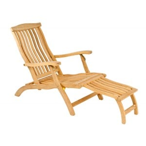 Alexander Rose Roble Garden Steamer Chair