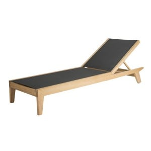 Alexander Rose Roble Garden Adjustable Charcoal Sling Bed