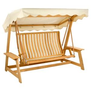 Alexander Rose Roble Garden Swing Seat Ecru