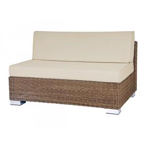 Alexander Rose San Marino Round Weave Garden 2 Seater Modular Sofa