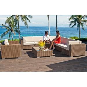 Alexander Rose San Marino Corner Lounge Set With Coffee Table
