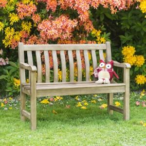 Alexander Rose Garden Furniture Sherwood Acacia 2ft Children's Bench