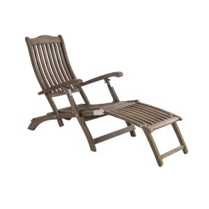 Alexander Rose Sherwood Acacia Garden Steamer Chair