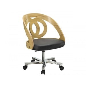 Jual Curve Furniture Oak Office Chair PC606