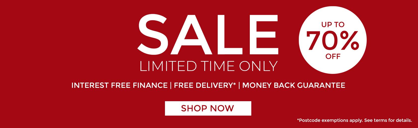 Fusion Furniture Store Summer Sale