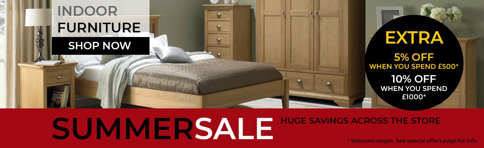 Indoor Furniture Summer Sale