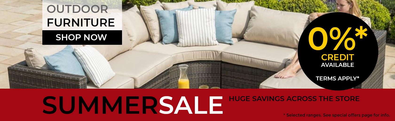 Garden Furniture Summer Sale