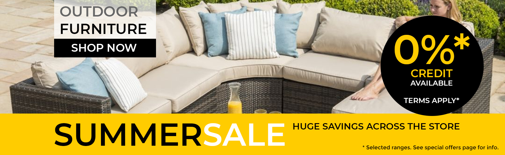 Garden Furniture Summer Sale