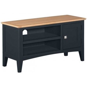 Alfriston Blue Painted Furniture Small TV Unit