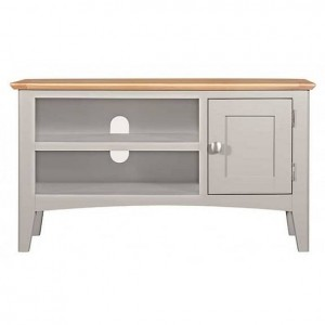 Alfriston Grey Painted Furniture Small TV Unit