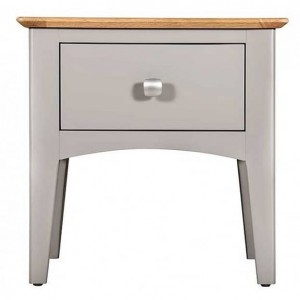 Alfriston Grey Painted Furniture Lamp Table