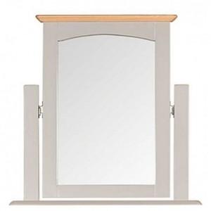 Alfriston Grey Painted Vanity Mirror