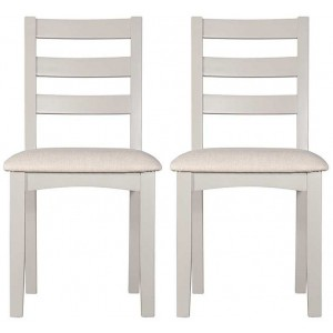 Alfriston Grey Painted Furniture Fixed Seat Chair