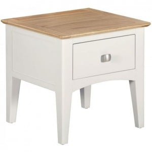 Alfriston White Painted Furniture Lamp Table