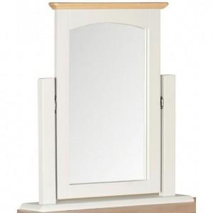Alfriston White Painted Furniture Vanity Mirror