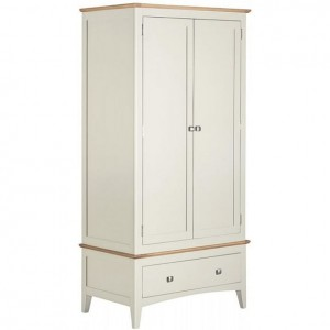 Alfriston White Painted Furniture Gents Wardrobe