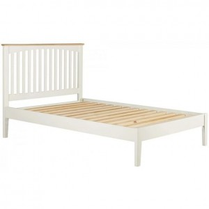 Alfriston White Painted Furniture 5ft Slatted Bed