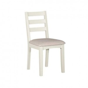 Alfriston White Painted Furniture Fixed Seat Chair