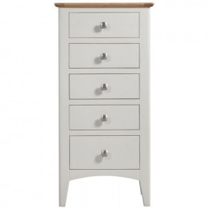 Alfriston White Painted Furniture Tall Chest of Drawers