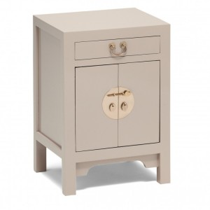 Nine Schools Oriental Furniture Qing Oyster Grey Small Cabinet