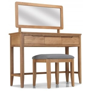 Abbey Oak Furniture Dressing Table Mirror Only