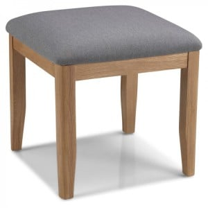 Abbey Oak Furniture Dressing Table Stool Only