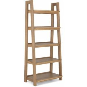 Alpha Oak Furniture Ladder Display Unit