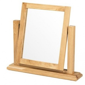Beauly Oak Furniture Dressing Table Mirror