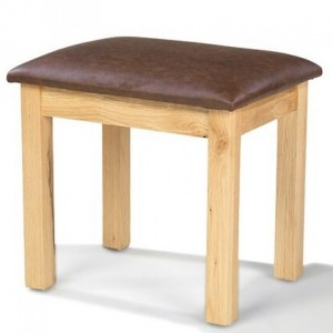 Beauly Oak Furniture Dressing Table Stool